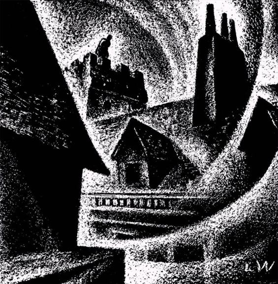 The Turn Of The Screw - illustration by Lynd Ward