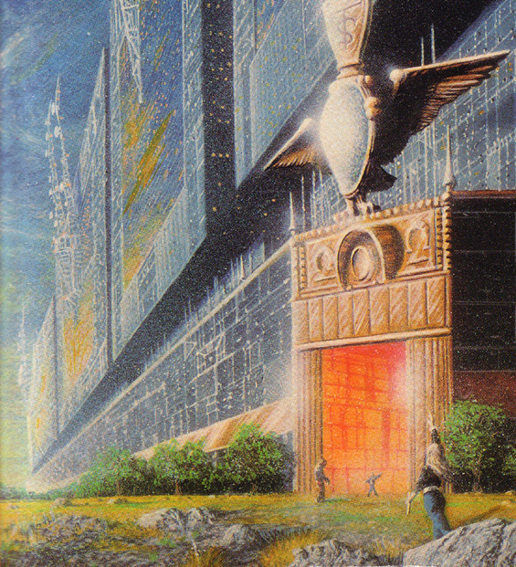 The Todos Santos Arcology from the cover of the 1986 Pocket Books paperback