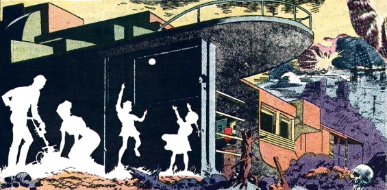 Weird Fantasy #17 - There Will Come Soft Rains - adapted by Wally Wood