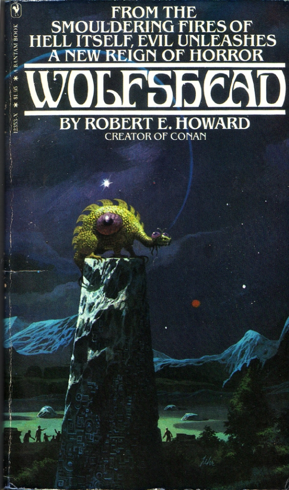 Wolfshead cover illustration by Paul Lehr