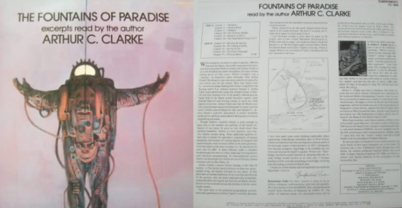 Caedmon - Arthur C. Clarke reads Fountains Of Paradise