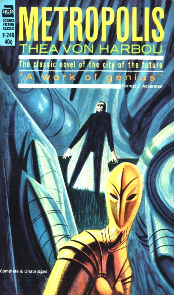 Ace Books F-246 - Metropolis by Thea Von Harbou