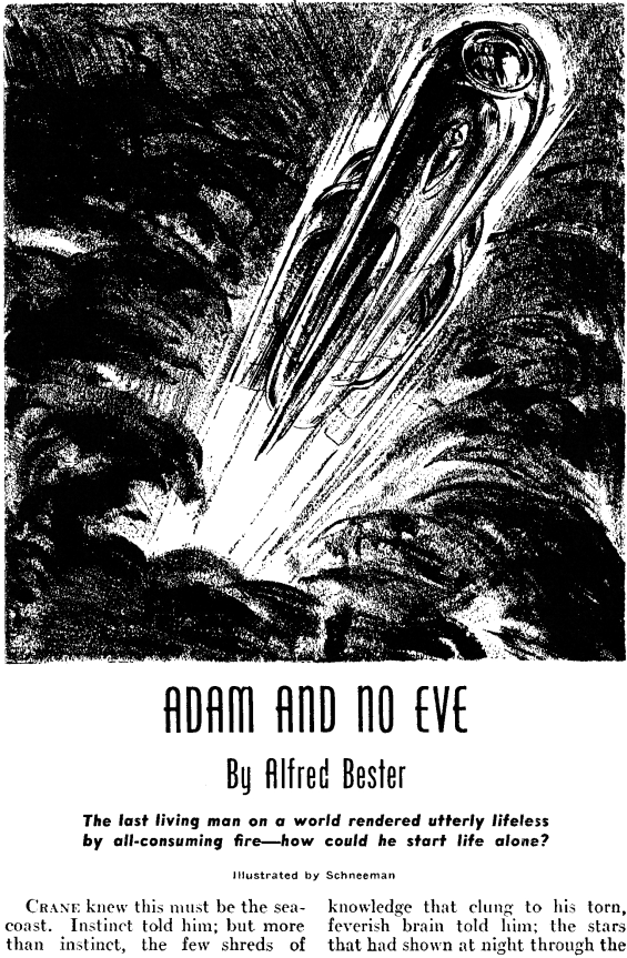 Adam And No Eve by Alfred Bester