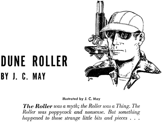 Dune Roller - illustrated by Julian May