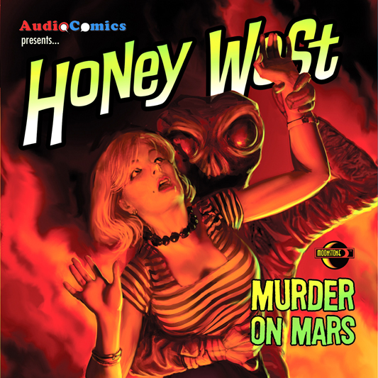 AudioComics Honey West