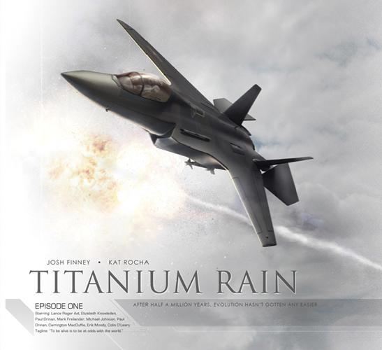 AudioComics Titanium Rain