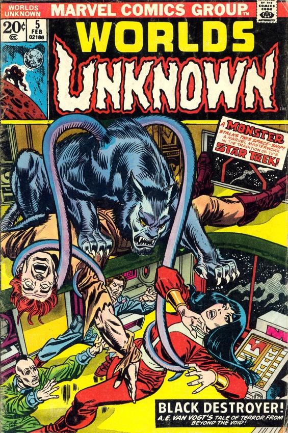 Worlds Unknown #5 - Black Destroyer (COMICS adaptation)