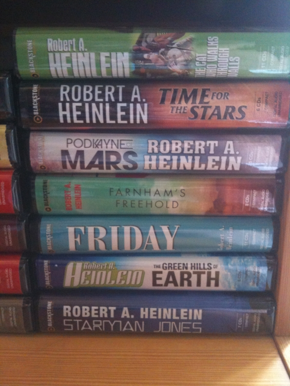 Blackstone Audio - Robert A. Heinlein Audiobooks