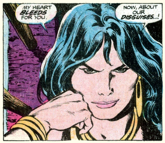 Buscema, My Heart Bleeds For You
