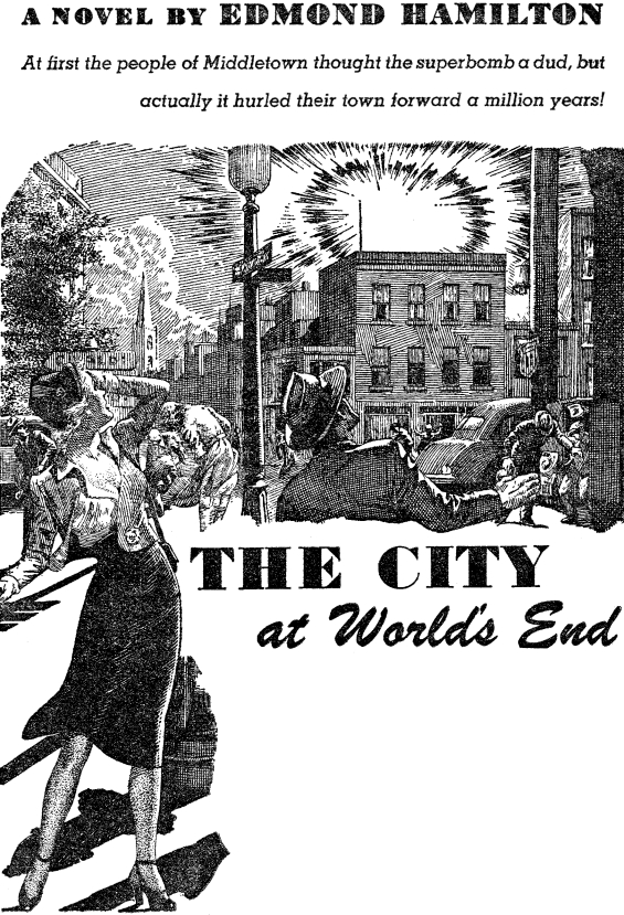 The City At World's End - from Startling Stories, July 1950 - Page 11