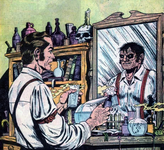 Classics Illustrated - Strange Case Of Dr Jekyll And Mr Hyde
