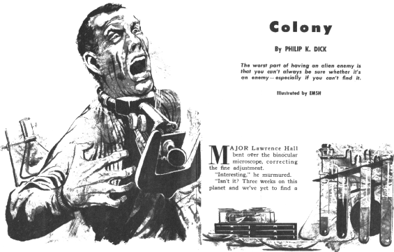 Colony by Philip K. Dick - illustrated by Ed Emshwiller