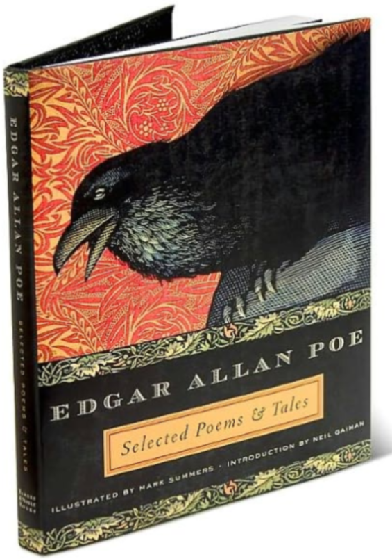 Edgar Allan Poe: Selected Poems & Tales - with illustrations by Mark Summers and an introduction by Neil Gaiman