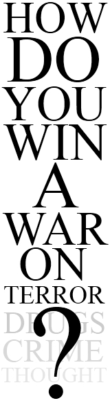 How Do You Win A War On Terror?