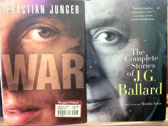 Sebastian Junger vs. J.G.  Ballard