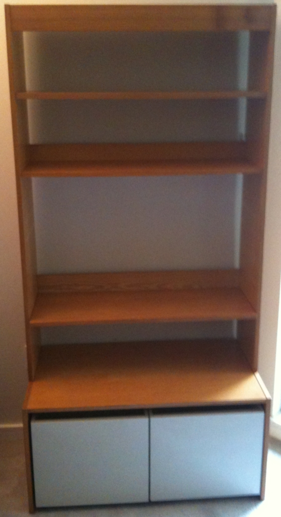 My New Bookshelf!