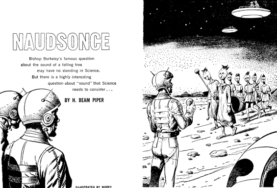 Naudsonce by H. Beam Piper - illustrated by Leo Morey