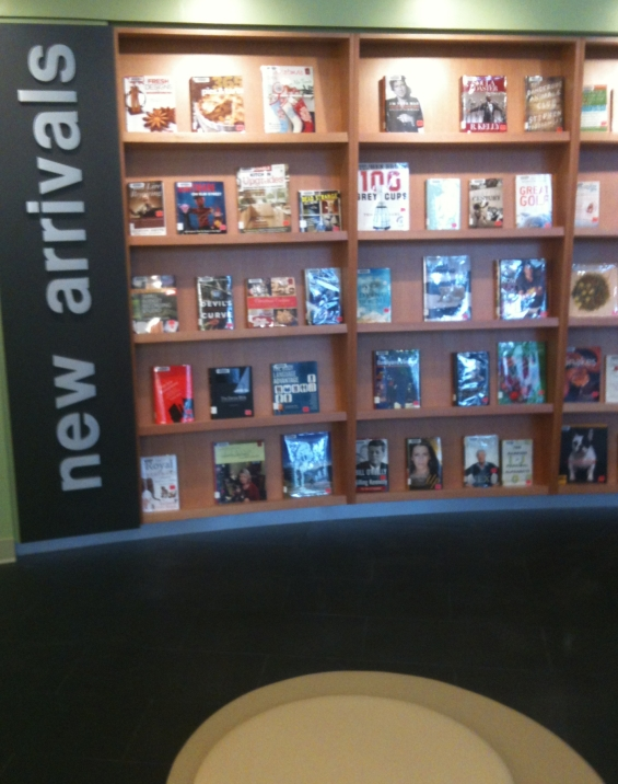 New Arrivals at the Coquitlam City Centre Library