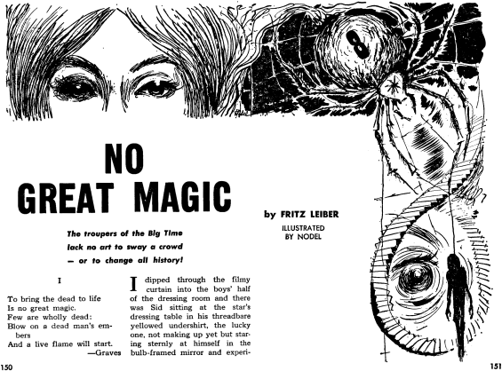 No Great Magic - illustrated by Nodel