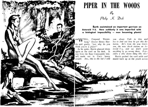 Piper In The Woods by Philip K. Dick (from Imagination, February 1953)