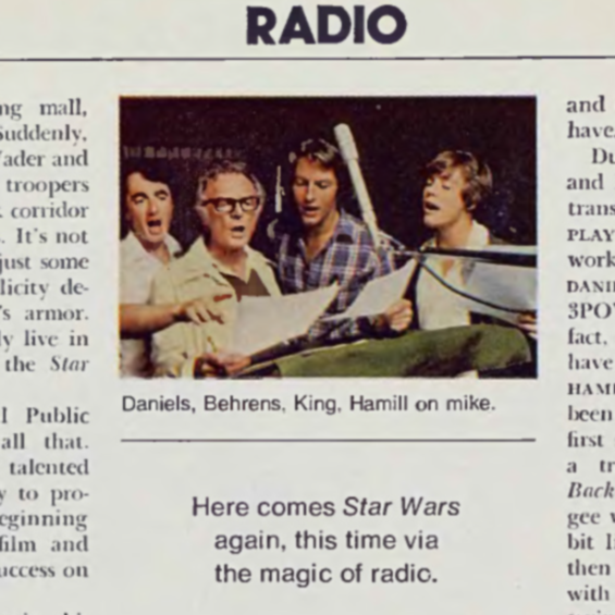 Playboy, March 1981 - Star Wars NPR