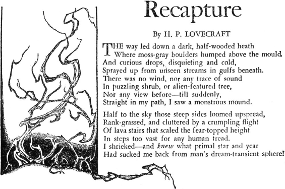 Recapture by H.P. Lovecraft