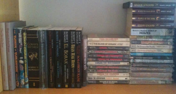 Robert E. Howard books and audiobooks