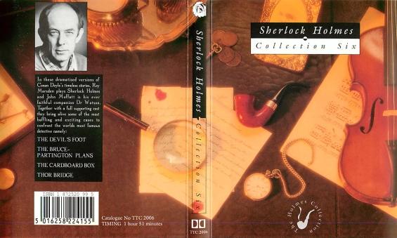BFS Audio - Sherlock Holmes Collection Six
