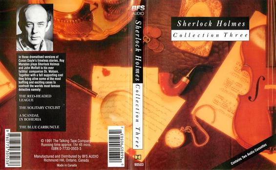 BFS Audio - Sherlock Holmes Collection Three