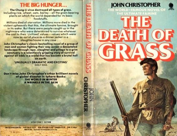 Sphere SF - The Death Of Grass by John Christopher