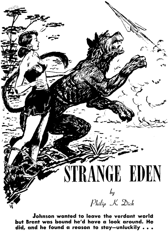 Strange Eden by Philip K. Dick
