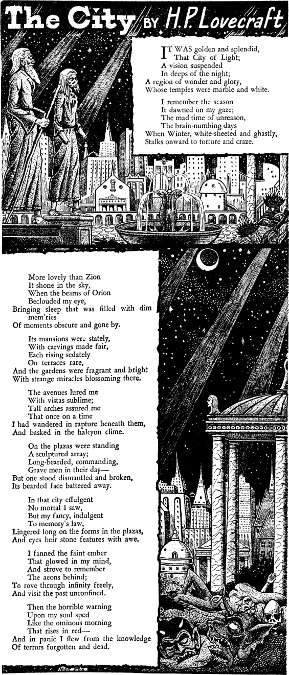 The City by H.P. Lovecraft