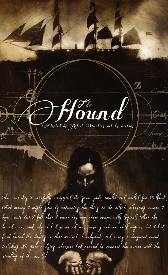 The Hound - illustration by Menton3 for the IDW adaptation