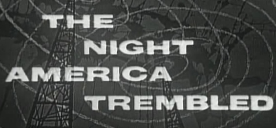 Studio One - The Night America Trembled