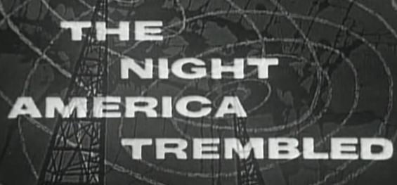 Studio One - The Night America Trembled