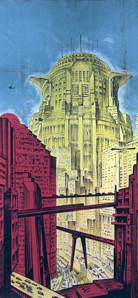 The Tower of Babylon in Metropolis