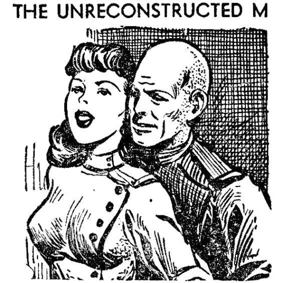 The Unreconstructed M - illustration by Frank Kelly Freas