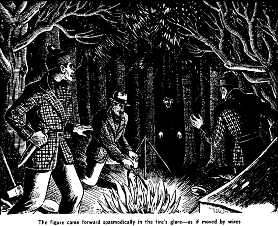 The Wendigo by Algernon Blackwood - from Famous Fantastic Mysteries, June 1944