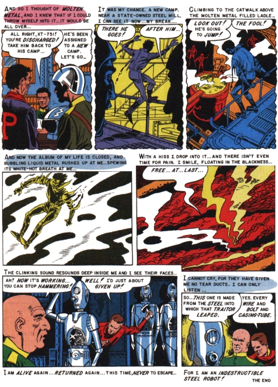 From EC Comics - Weird Fantasy #020 - The Automaton Page 7