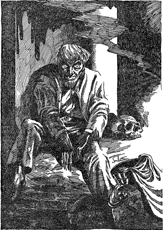 Weird Tales illustration by Jon Arfstrom for The Horror At Red Hook
