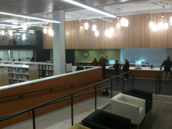 the Coquitlam City Centre Library