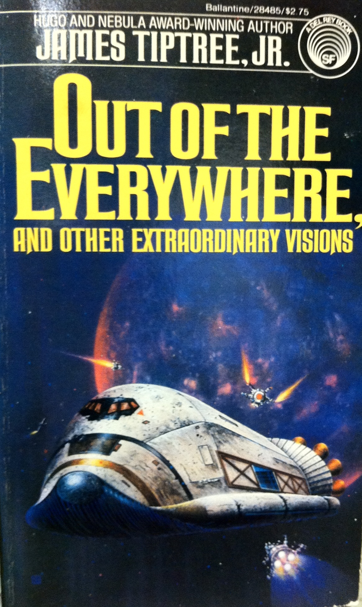 James Tiptree Jr. - Out Of The Everywhere (cover)