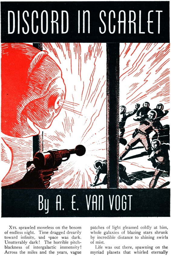 Discord In Scarlet by A.E. van Vogt