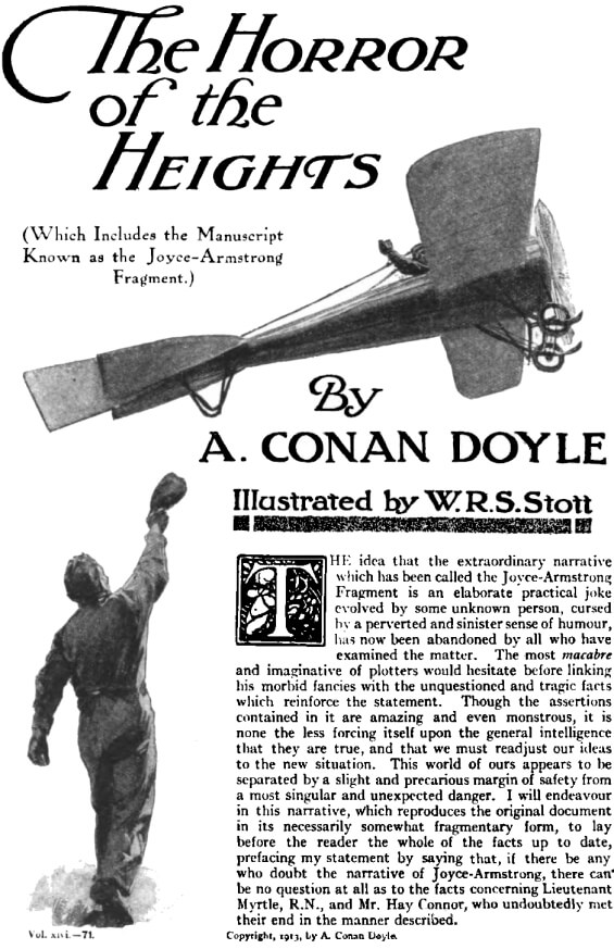 The Horror Of The Heights by Sir Arthur Conan Doyle
