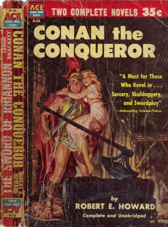 ACE Double D-36 - Conan The Conqueror by Robert E. Howard (aka The Hour Of The Dragon)