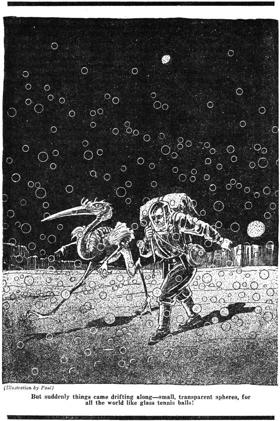 A Martian Odyssey - illustration by Frank R. Paul