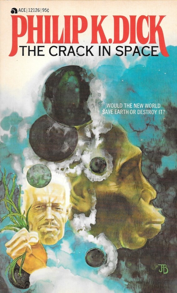 Ace Books 12126 The Crack In Space by Philip K. Dick