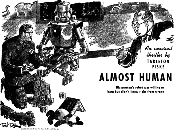 Almost Human illustrated by Rod Ruth