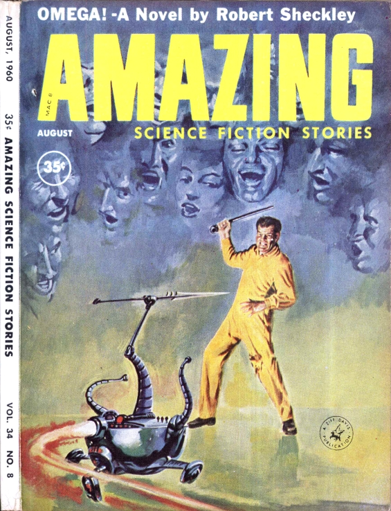 Amazing Science Fiction Stories - OMEGA by Robert Sheckley