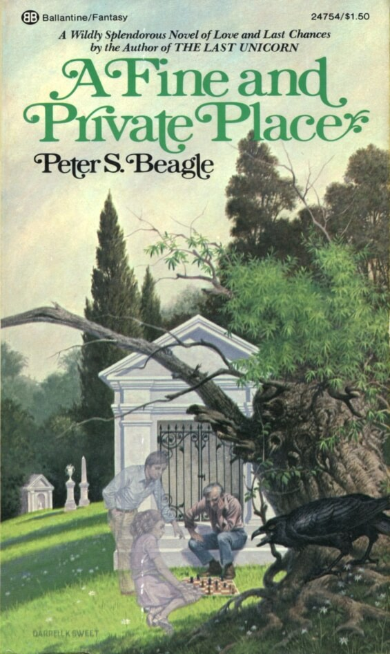 BALLANTINE - A Fine And Private Place by Peter S. Beagle